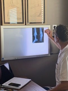 Consultation raido au cabinet du Docteur Prové, chirurgien orthopédiste à Cholet (49)